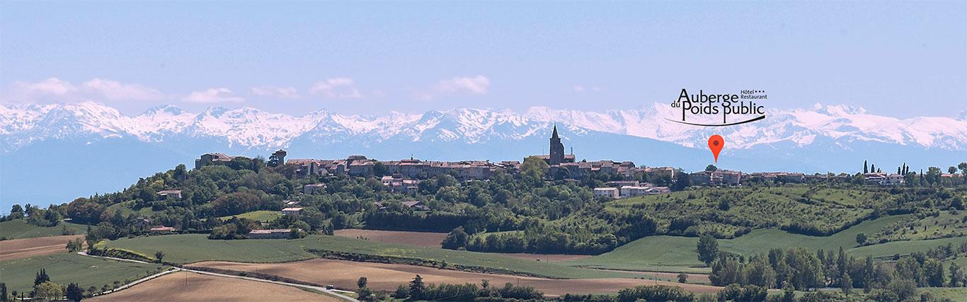 Saint-Felix-de-Lauragais l'Auberge du Poids public