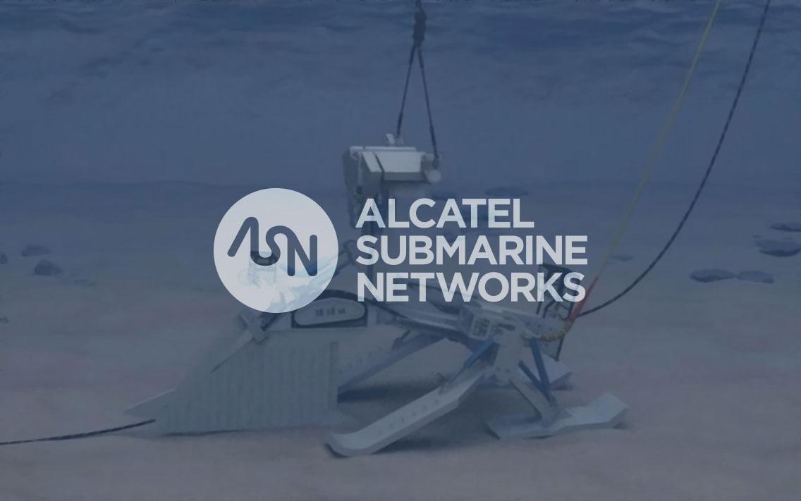ASN Alcatel Submarine Networks plough