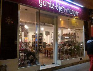 Le Garde-bien-manger Paris facade nuit