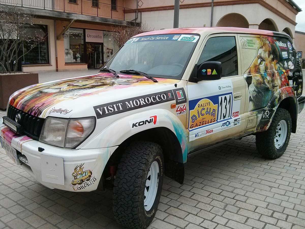 Voiture total covering Team-E