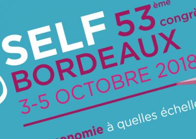 SELF 2018 – Bordeaux